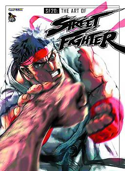 Art Book: Street Fighter SF20 Art of Street Fighter 20th Anniversary