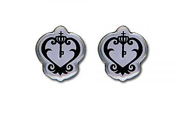 Black Butler Earrings - Sebastian's Watch Emblem