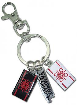 Vampire Knight Key Chain - Day/Knight Class Cross Logo and Title