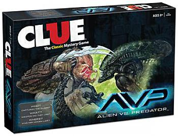 Aliens Vs. Predator Board Games - Clue Collector's Edition