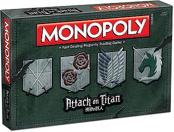 Attack on Titan Board Games - Monopoly Collector's Edition (Retro)
