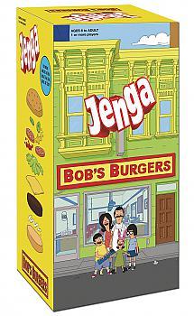 Bob's Burger Board Games - Jenga Collector's Edition