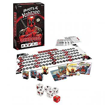 Deadpool Board Game - Battle Yahtzee Collector's Edition