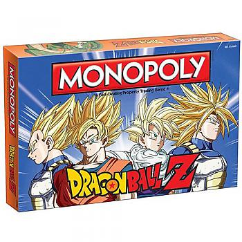 Dragon Ball Z Board Game - Monopoly Collector's Edition