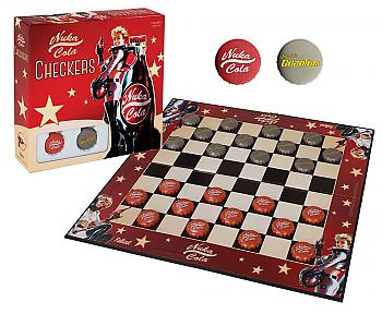 Fallout Board Game - Nuka Cola Checkers Collector's Edition