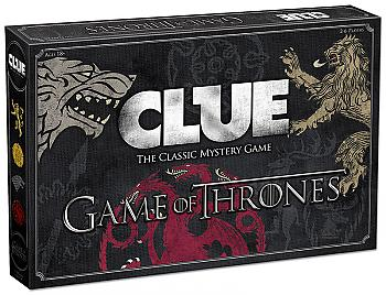 Game of Thrones Board Game - Clue Collector's Edition