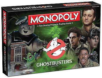 Ghostbusters Board Game - Monopoly Collector's Edition