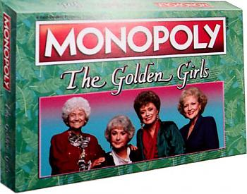 golden girls board game monopoly collector 39 s edition archonia us. Black Bedroom Furniture Sets. Home Design Ideas