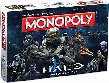 Halo Board Game - Monopoly Collector's Edition