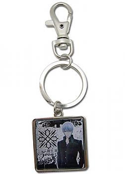 Vampire Knight Key Chain - Metal Zero Square