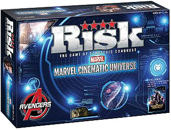 Marvel Cinematic Universe Board Game - Risk Collector's Edition