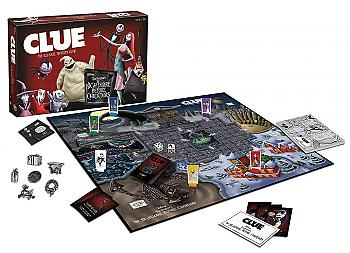 Nightmare Before Christmas Board Game - Clue Collector's Edition