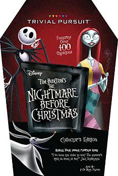 Nightmare Before Christmas Board Game - Trivial Pursuit Collector's Edition