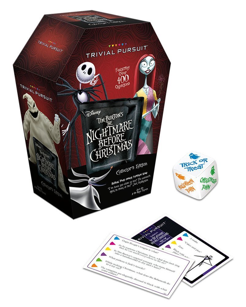 Nightmare Before Christmas Board Game - Trivial Pursuit ...