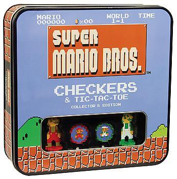 Nintendo - Checkers / Tic Tac Toe Collector's Edition (8 Board Games - Bit Super Mario)