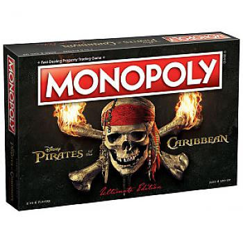 Pirates of the Caribbean Board Game - Monopoly Collector's Edition