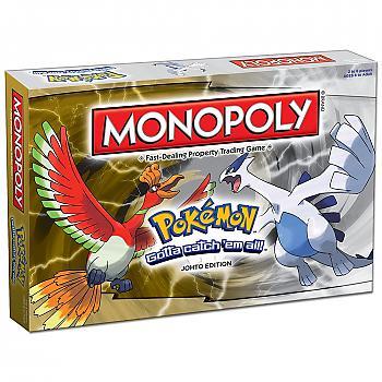 Pokemon Board Game - Johto Monopoly Collector's Edition