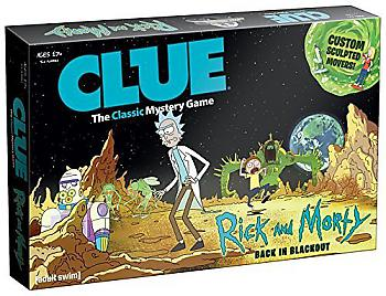 Rick & Morty Board Game - Clue Collector's Edition