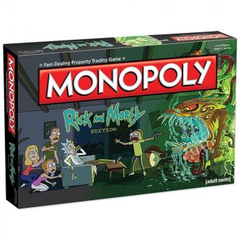 Rick & Morty Board Game - Monopoly Collector's Edition