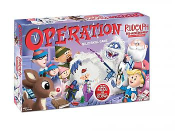 Rudolph the Red-Nosed Reindeer Board Game - Operation Collector's Edition