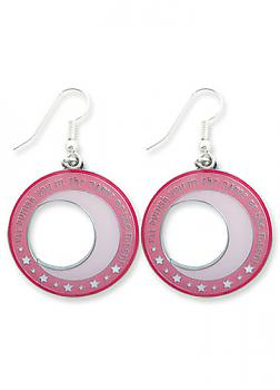 Sailor Moon Earrings - Crescent Logo