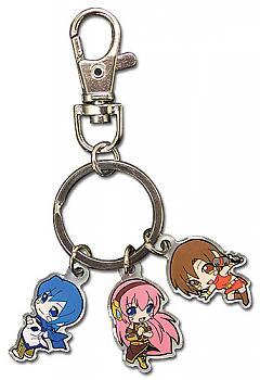 Vocaloid Key Chain - Miku, Meiko and Kaito