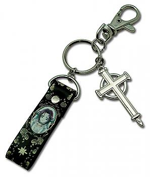 Trinity Blood Key Chain - Metal Esther with Strap