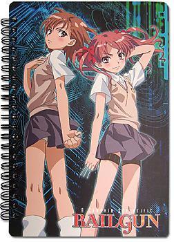 A Certain Sciencitific Railgun Spiral Notebook - Misaka & Kuroko