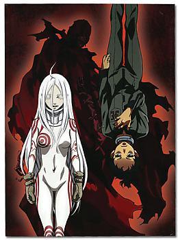 Deadman Wonderland Glue Bound Notebook - Shiro & Ganta