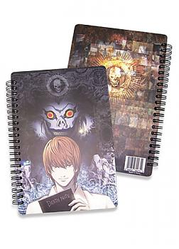 Death Note Softcover Notebook - Light and Ryuk
