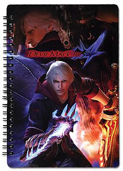 Devil May Cry 4 Spiral Notebook - Cover Art