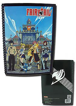 Fairy Tail Spiral Notebook - Group