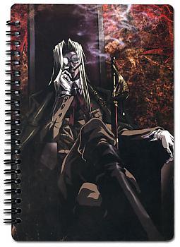 Hellsing Ultimate Spiral Notebook - Integra