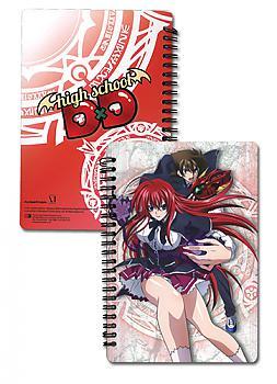 High School DxD Spiral Notebook - Issie & Rias