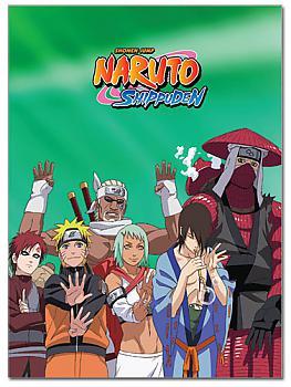 Naruto Shippuden Glue Bound Notebook - Jinchuriki