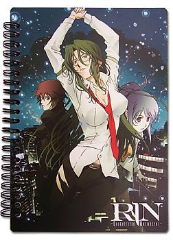 Rin Daughter of Mnemosyne Notebook