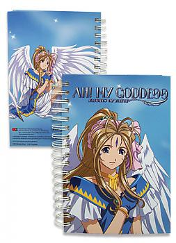Oh! My Goddess Hardcover Notebook - Belldandy