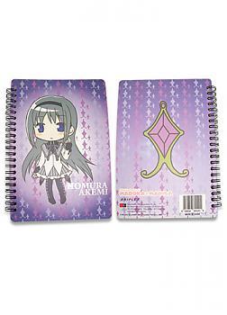 Puella Magi Madoka Magica Softcover Notebook - Homura