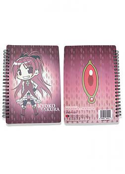Puella Magi Madoka Magica Softcover Notebook - Kyoko