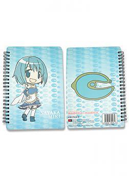 Puella Magi Madoka Magica Softcover Notebook - Sayaka