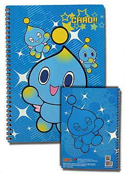 Sonic Spiral Notebook - Chao