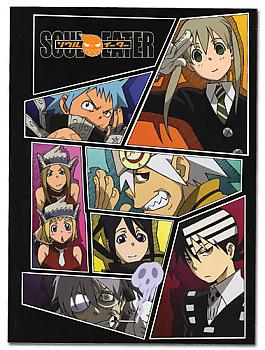Soul Eater Glue Bound Notebook - Collage