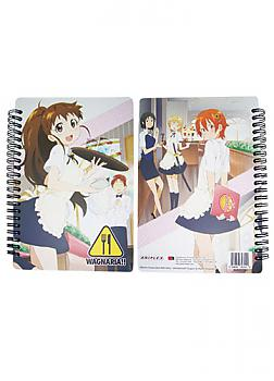 Wagnaria Softcover Notebook - Girls