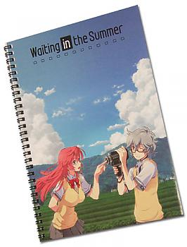 Waiting in the Summer Spiral Notebook - Ichika & Kaito