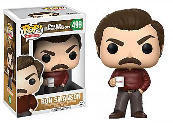 Parks and Recreation POP! Vinyl Figure - Ron Swansom