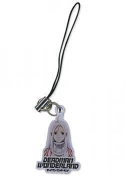 Deadman Wonderland Phone Charm - Shiro Metal