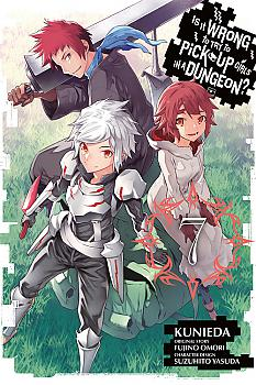 Is It Wrong to Try to Pick Up Girls in a Dungeon? Manga Vol.   7