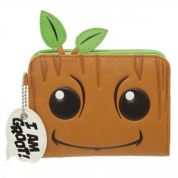 Guardians of the Galaxy Zip Wallet - I am Groot