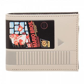 Nintendo Bifold Wallet - Super Mario Cartridge