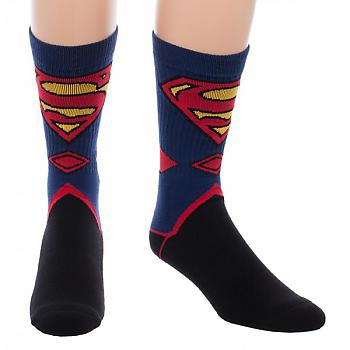 Superman Socks - Suit Up Crew